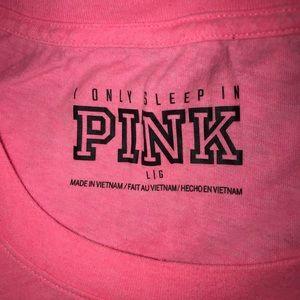 PINK Victoria's Secret Intimates & Sleepwear - Victoria's Secret PINK cotton sleep tee sz L